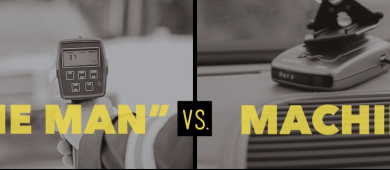 "Photo of ""The Man"" vs. Machine [Infographic]"