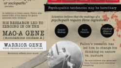 The Brain of a Serial Killer [Infographic] 1
