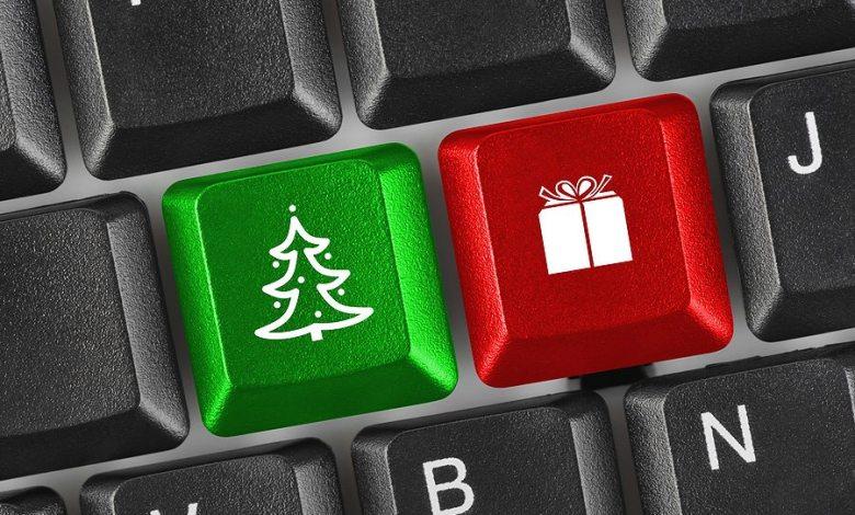 Christmas keyboard