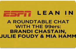 ESPN Lean In with the 99ers