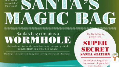 Photo of The Wonders and Physics of Santa Claus [Infographic]