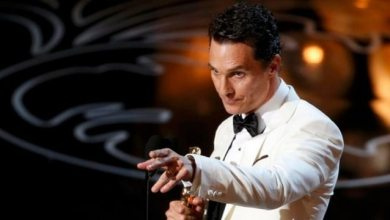 Photo of VOTD: Matthew McConaughey Oscar 2014