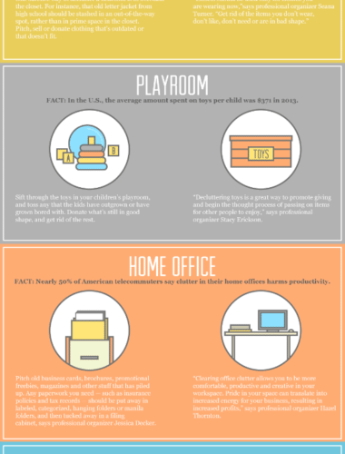 Declutter First, Spring Clean Later [Infographic] 1