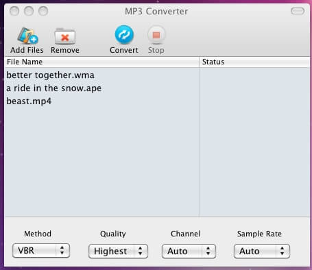 mp3 converter screenshot2