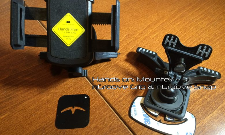 Photo of 2 cell phone mounts for your vehicle