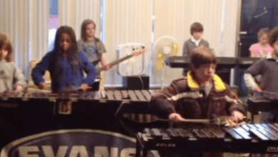 Photo of Kids Perform Ozzy's 'Crazy Train' On Xylophones!