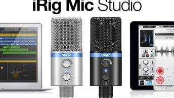 Hands on with IK Multimedia's iRig Mic Studio 3