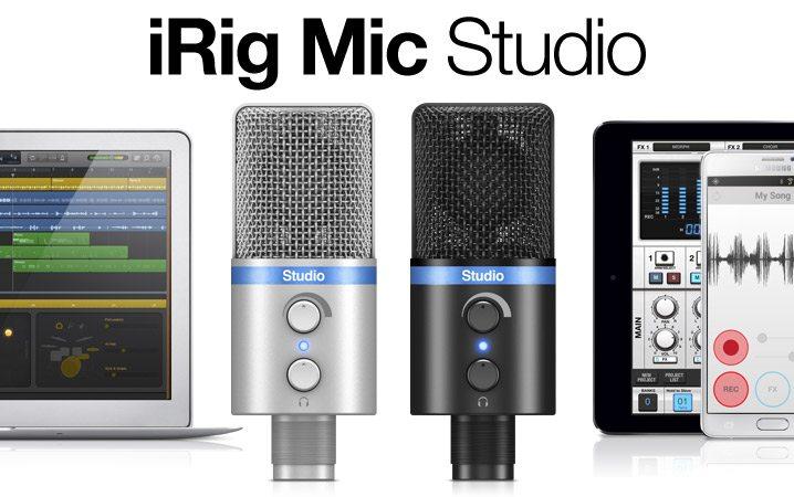 Photo of Hands on with IK Multimedia's iRig Mic Studio