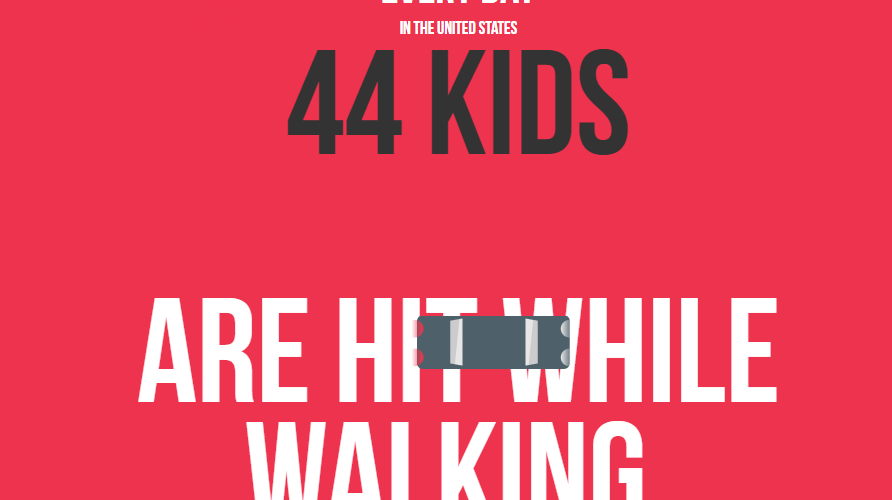 Pedestrian Safety Is A Lifesaving Lesson [Infographic] 1