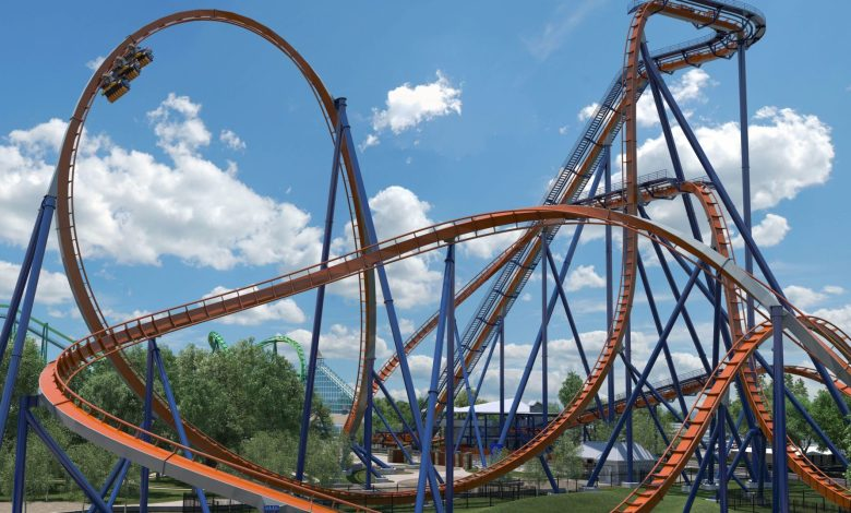 """Photo of Meet Valravn, the """"Raven of the Slain"""" Rollercoaster at Cedar Point"""