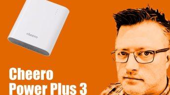 Hands On: Cheero Power Plus 3 - 13400mAh 3