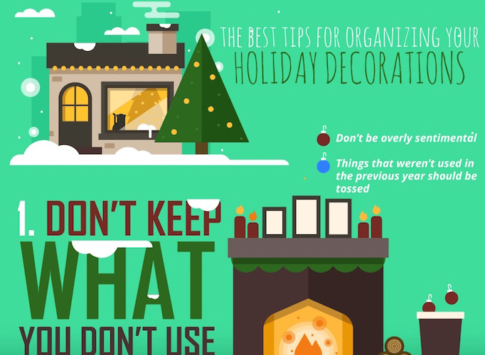 Storage Tips For Your Holiday Decorations [Infographic] 1