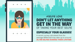 How To Take Your Best Selfie - With Or Without Glasses [Infographic] 11