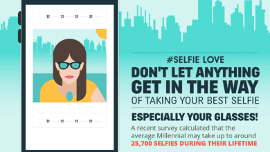Photo of How To Take Your Best Selfie – With Or Without Glasses [Infographic]
