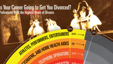 Photo of How Likely Are You To Get A Divorce Because Of Your Job? [Infographic]