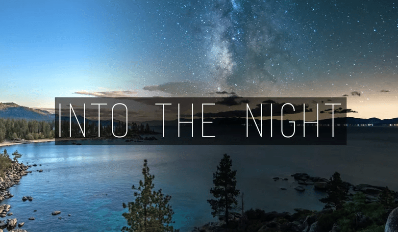 Photo of 'Into The Night' – Time Lapse Photography Done Right