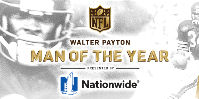 Nominees for the Walter Payton NFL Man of the Year Award