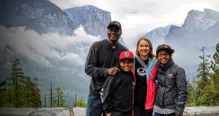 Family in Yosemite