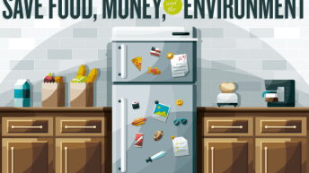 Resolve To Cut Down On Food Waste [Infographic] 1