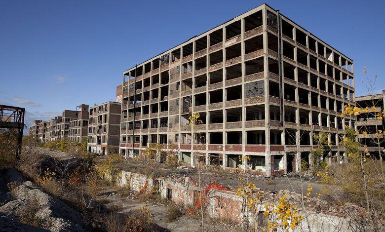 abandoned auto plant
