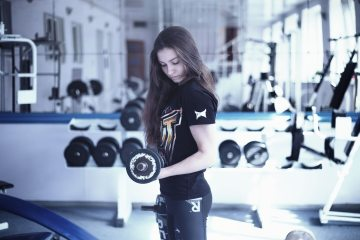 girl in gym