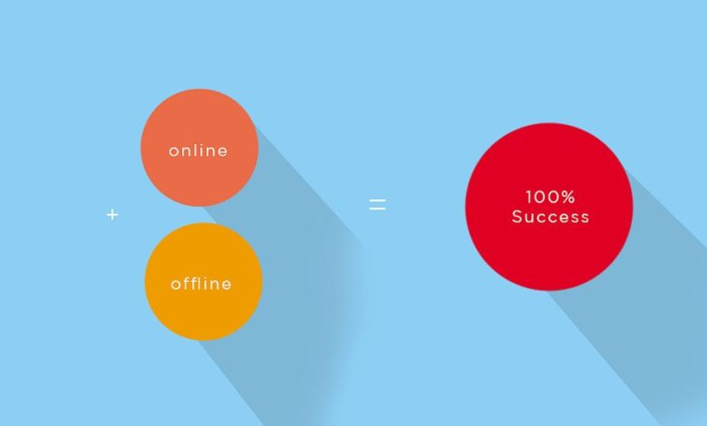 online offline success