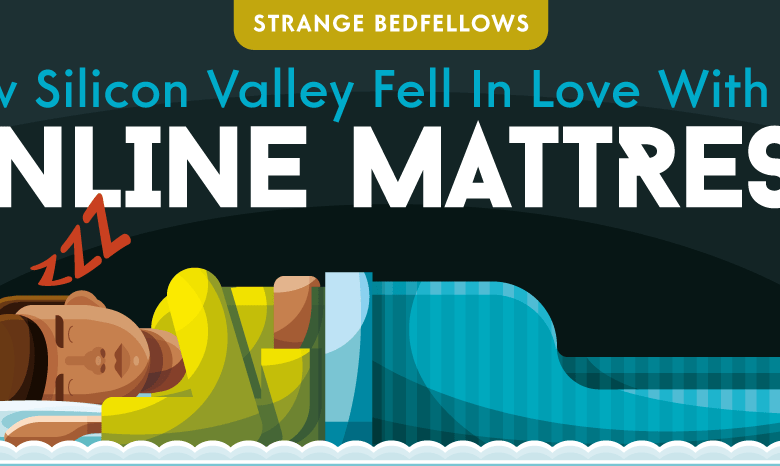 Photo of Why Did Silicon Valley Suddenly Get Obsessed With Mattresses? [Infographic]