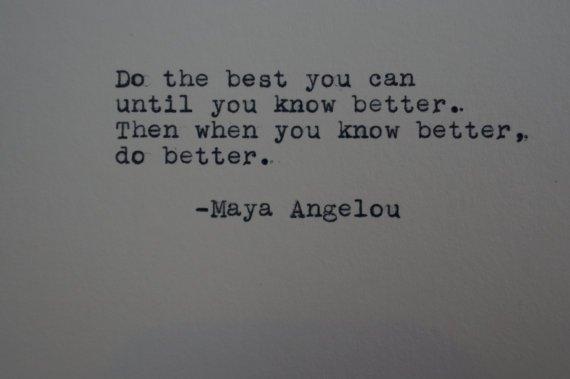 The Words Of Maya Angelou 1