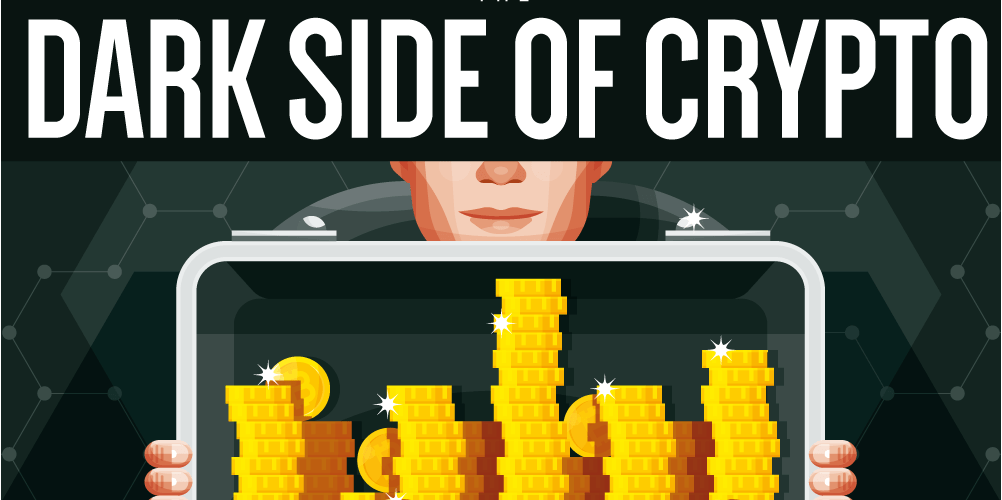 The Dark Side Of Cryptocurrency [Infographic] 1
