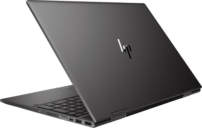 HP Envy x360 back