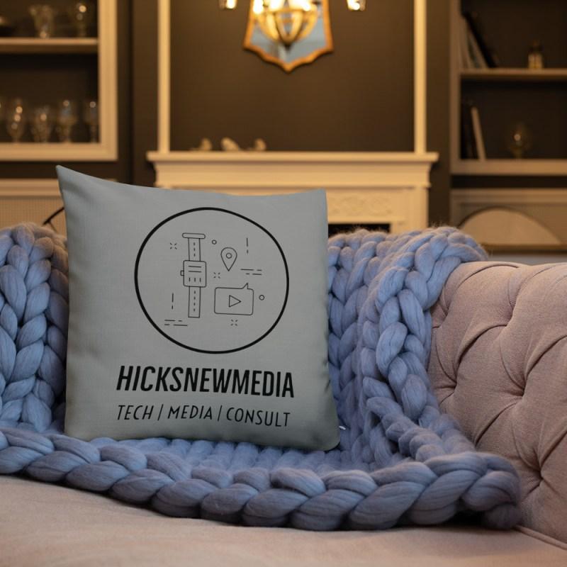 HNM Logo Premium Pillow (18x18) 3