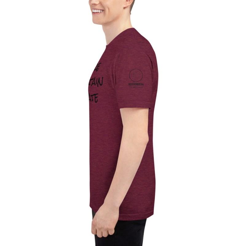 Inspire | Entertain | Educate Unisex Tri-Blend Track Shirt 3