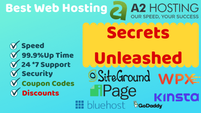 The ultimate guide on how to choose the best web hosting