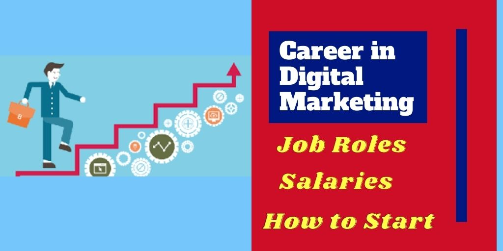 jobs and salaries in digital marketing career