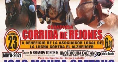 Cantalejo celebrará una corrida de rejones benéfica el 23 de mayo