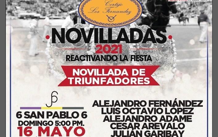 """Novillada de triunfadores en el Cortijo """"Los Fernández"""""""