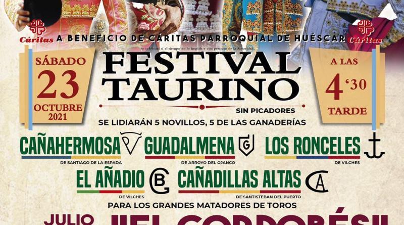 Festival taurino benéfico en Huéscar