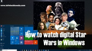 Watch Digital Star wars in windows