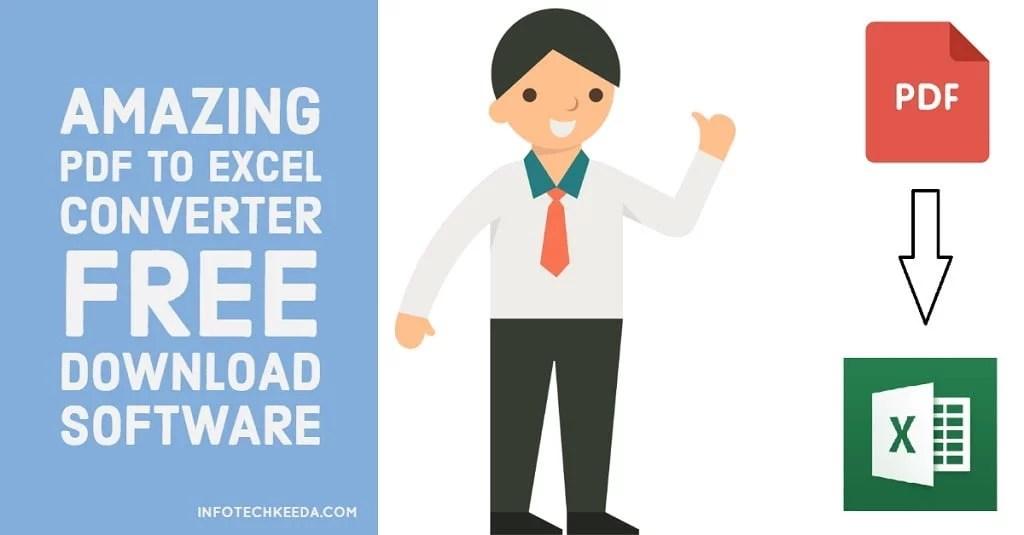 download gratis convert pdf to excel