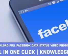 Facebook old data