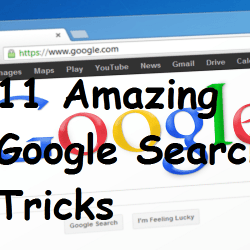 11 Amazing Google Search Tricks