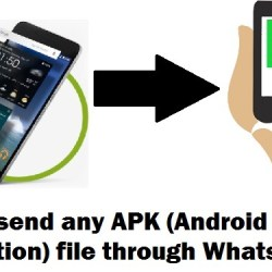 How to send any APK file through Whatsapp