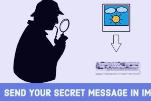 secret message in image