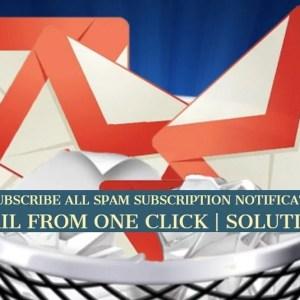 Spam mails solution