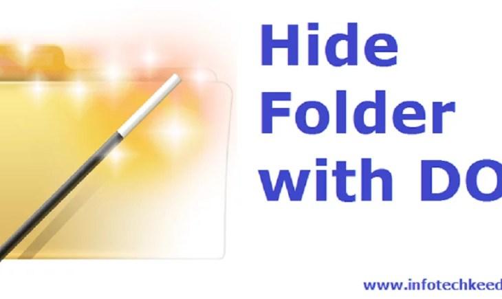 hide Folder with DOS