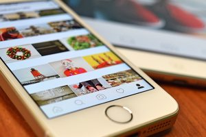 Instagram update with a new re-share feature