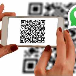 Whatsapp QR code contact