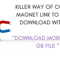 Killer way of convert magnet link to direct download