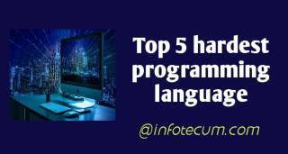 hardest programming language
