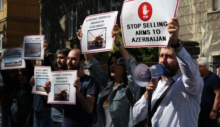 протеста армян